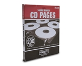 Vaultz Locking VZ01401 25 Pack CD/DVD Pages for Binder - Black