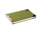 Wilson Jones Canvas Sectional Storage Post Binder For 8-1/2 X 14 Sheets, 4-1/4- Post Spacing, Green Canvas, W278-32A