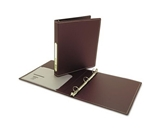 Wilson Jones Resource Foam Polypropylene Ring Binder, Durable Hinge, 1 Inch Capacity, Letter Size, Brown (W38207)