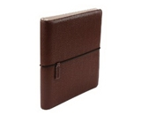 Wilson Jones WorkStyle Cut and Sewn Round Ring Binder, 1 Inch Capacity, Letter Size, Brown (W31901)
