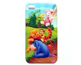Winnie the Pooh Hard Cover Case for Iphone 4 4g & 4s NEW