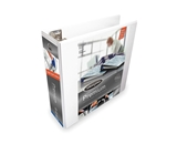 Wilson Jones W86630PP2 Ultra Duty 3- D-Ring View Binder, White