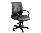 ZYCO VINYL MID BACK VE6210 FABRIC EXECUTIVE CHAIR